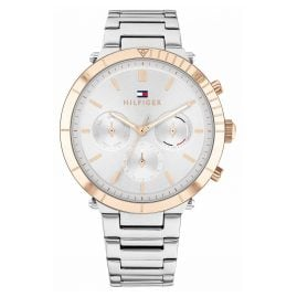 Tommy Hilfiger 1782348 Ladies' Watch Multifunction Emery Two-Colour
