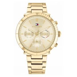 Tommy Hilfiger 1782350 Ladies' Watch Multifunction Emery Gold Tone