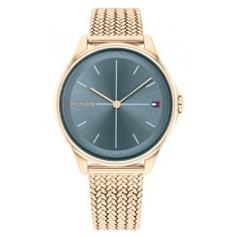 Tommy Hilfiger 1782356 Ladies' Watch Delphine Rose Gold Tone/Teal