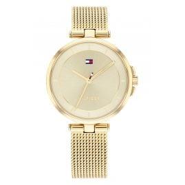 Tommy Hilfiger 1782362 Damen-Armbanduhr Cami Goldfarben