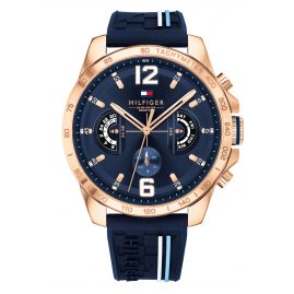 Tommy Hilfiger 1791474 Multifunktion Herrenuhr Decker