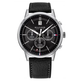 Tommy Hilfiger 1791630 Men's Wristwatch with Dual Time Kyle