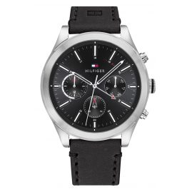 Tommy Hilfiger 1791740 Men's Watch Multifunction Ashton Black