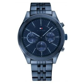 Tommy Hilfiger 1791739 Men's Watch Multifunction Ashton Dark Blue