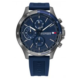 Tommy Hilfiger 1791721 Men's Watch Bank Dark Blue