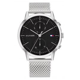Tommy Hilfiger 1710433 Herren-Armbanduhr Multifunktion Easton Stahl/Schwarz