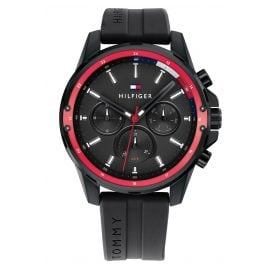 Tommy Hilfiger 1791793 Mens Watch Multifunction Mason Black