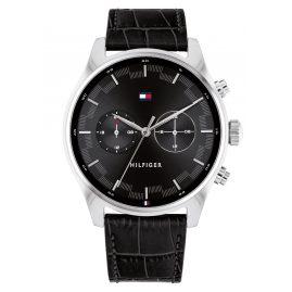 Tommy Hilfiger 1710424 Men's Watch Sawyer Black/Steel
