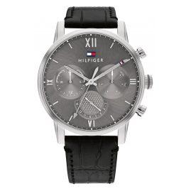 Tommy Hilfiger 1791883 Herren-Armbanduhr Multifunktion Sullivan Schwarz/Grau
