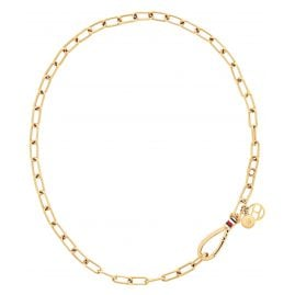 Tommy Hilfiger 2780332 Ladies' Necklace Dressed Up Gold Plated Steel