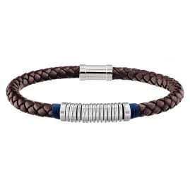 Tommy Hilfiger 2790154 Leather Men's Bracelet Casual Brown