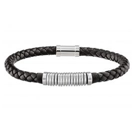 Tommy Hilfiger 2790153 Men's Leather Bracelet Casual Black