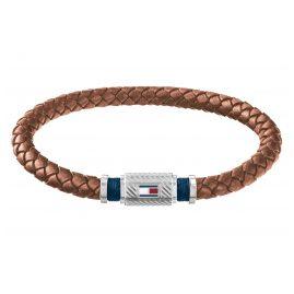 Tommy Hilfiger 2790081 Herren Leder-Armband Casual Braun