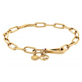 Tommy Hilfiger 2780335 Women's Bracelet Dressed Up Gold Plated Steel