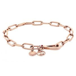 Tommy Hilfiger 2780336 Ladies' Bracelet Dressed Up Rose Gold Plated Steel
