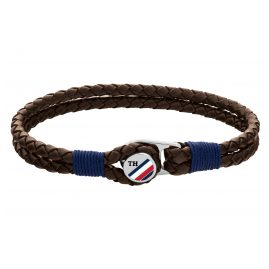 Tommy Hilfiger 2790196 Men's Leather Bracelet Brown