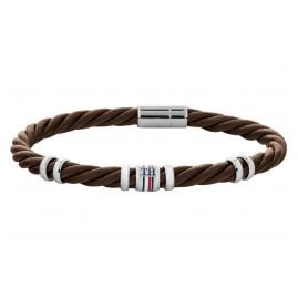 Tommy Hilfiger 2790200 Men's Bracelet Brown Leather