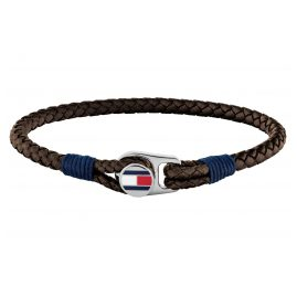 Tommy Hilfiger 2790207 Men's Leather Bracelet Brown Casual