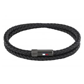 Tommy Hilfiger 2790262 Men's Bracelet Black Leather