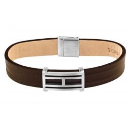 Tommy Hilfiger 2790267 Men's Leather Bracelet Brown