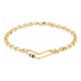 Tommy Hilfiger 2780445 Women's Bracelet Heart Gold Plated Stainless Steel