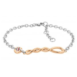 Tommy Hilfiger 2780510 Ladies' Bracelet Stainless Steel Twisted Chain Rose