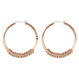 Tommy Hilfiger 2780216 Ladies' Hoop Earrings Dressed Up