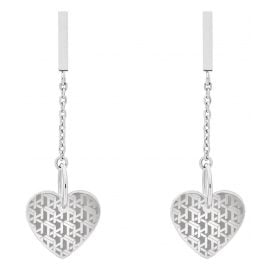 Tommy Hilfiger 2780302 Women's Drop Earrings Heart Stainless Steel