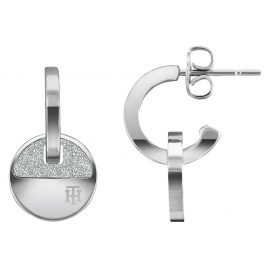 Tommy Hilfiger 2780459 Ladies' Hoop Earrings Stainless Steel Dressed Up