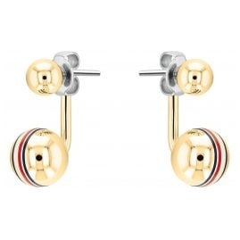 Tommy Hilfiger 2780497 Ladies' Earrings Gold Plated Stainless Steel