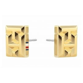 Tommy Hilfiger 2780434 Ladies' Stud Earrings Gold Plated Stainless Steel