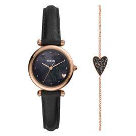 Fossil ES4506SET Damenuhr Carlie Geschenkset mit Armband