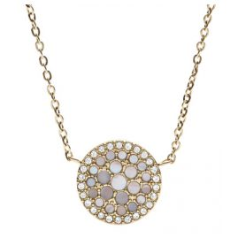 Fossil JF02603710 Ladies Necklace Vintage Glitz