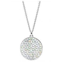 Fossil JFS00464040 Silber Damen-Halskette Floral