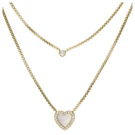 Fossil JF03217710 Ladies' Necklace Vintage Glitz Heart