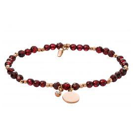 Fossil JA6985791 Ladies' Bracelet Vintage Motifs Garnet Red