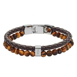 Fossil JF03118040 Men's Bracelet Vintage Casual Brown