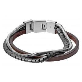 Fossil JF03178040 Men's Bracelet Multi-Strand
