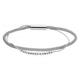 Fossil JA7030040 Damen-Armband Multi Strand Edelstahl