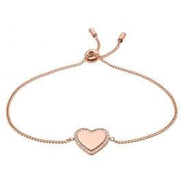 Fossil JF03361791 Ladies' Bracelet Heart Be Mine Rose
