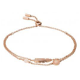 Fossil JF03669791 Damen-Armband Feather Rosé