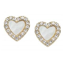 Fossil JF03215710 Damen Herz-Ohrstecker Heart