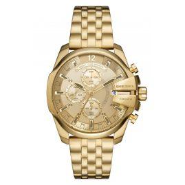 Diesel DZ4565 Men's Watch Chronograph Baby Chief Gold Tone
