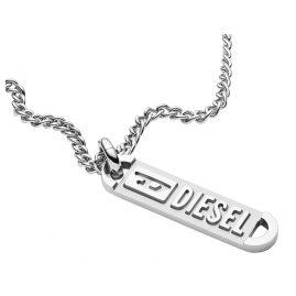 Diesel DX1228040 Herren-Halskette mit Anhänger Edelstahl