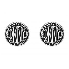 DKNY 5520031 Damen-Ohrringe Logo Token