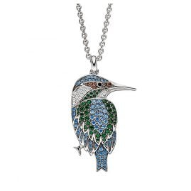 Viventy 782582 Ladies´ Necklace Silver Kingfisher
