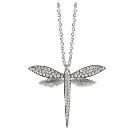 Viventy 781892 Women's Necklace Silver Dragonfly