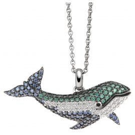 Viventy 782112 Silver Ladies´ Necklace Whale