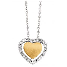 Viventy 781822 Silver Heart Pendant Ladies' Necklace