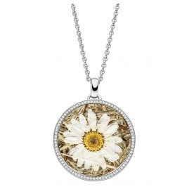 Viventy 783312 Silver Necklace for Ladies Marguerite